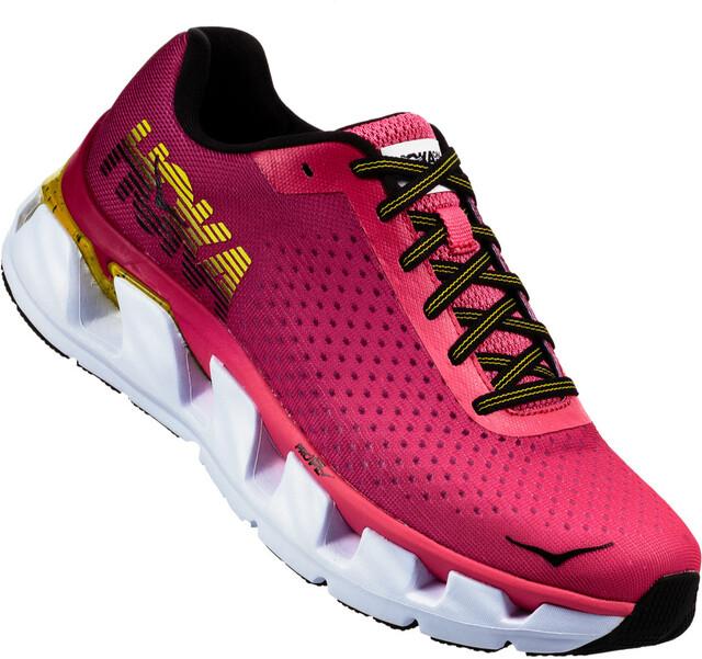 Hoka One One W's Elevon Running Shoes Hot Sosa/Cherries Jubilee
